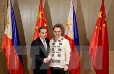 Bộ trưởng Ngoại giao Trung Quốc Vương Nghị thăm Philippines