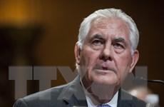 Ngoại trưởng Mỹ Rex Tillerson phủ nhận thông tin sẽ từ chức