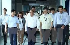 Thủ tướng Nguyễn Xuân Phúc làm việc với Samsung Thái Nguyên