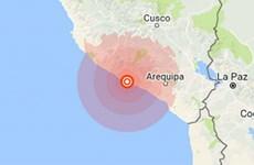 Động đất mạnh 5,6 độ Richter gây thương vong ở phía Nam Peru