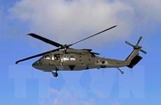 Rơi trực thăng của Lục quân Mỹ ở bờ biển ngoài khơi Hawaii
