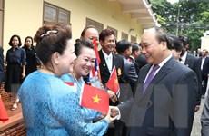 Thủ tướng Nguyễn Xuân phúc gặp gỡ cộng đồng kiều bào tại Bangkok