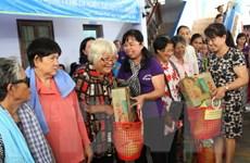 Những tấm lòng nhân ái từ TP.HCM đến với người nghèo Campuchia
