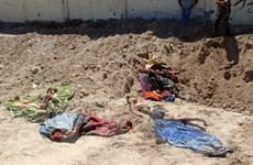 Iraq phát hiện hai hố chôn tập thể gần một nhà tù của IS ở Mosul