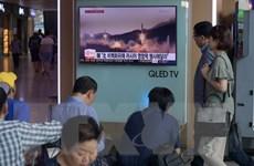 Hàn Quốc: Triều Tiên có thể đã thử hệ thống pháo phản lực