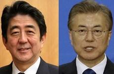 Lãnh đạo Nhật-Hàn điện đàm về vụ phóng tên lửa của Triều Tiên