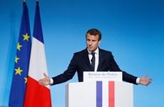 Pháp đặt vấn đề chống biến đổi khí hậu là một ưu tiên
