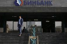Thêm một ngân hàng lớn của Nga đề nghị xin được cứu trợ
