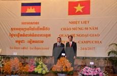 Thủ tướng Hun Sen ghi nhận sự phát triển quan hệ Campuchia-Việt Nam