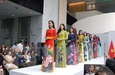 Áo dài Việt Nam và nhạc dân tộc trong Cung điện mỹ thuật Paris