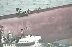 Tìm thấy 13 thi thể sau vụ va chạm tàu cá Trung Quốc và tàu chở dầu