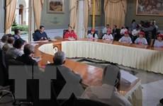 Chính phủ Venezuela và phe đối lập thông báo nối lại đối thoại