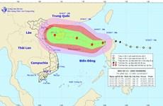 Bão Khanun đã vào biển Đông, trở thành cơn bão số 11