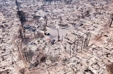 """California điêu đứng vì """"bão lửa,"""" số người thiệt mạng tiếp tục tăng"""