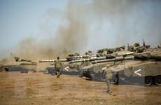 Israel không kích vào Syria để trả đũa các vụ phóng rocket