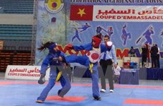 Chung kết Giải Cúp Đại sứ Vovinam Việt Võ Đạo tại Algeria
