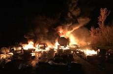 Tai nạn liên hoàn giữa 14 xe ôtô trên cao tốc, ít nhất 3 người tử vong