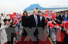 Thương mại - trọng tâm chuyến công du Trung Quốc của Tổng thống Mỹ