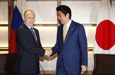 Lãnh đạo Nga, Nhật thảo luận về dự án chung trên các đảo tranh chấp