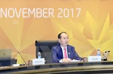 Bài phát biểu của Chủ tịch nước về kết quả Hội nghị Cấp cao APEC 2017
