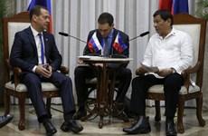 Philippines, Nga cam kết mở rộng thương mại và hợp tác quân sự