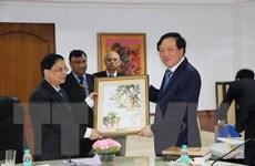 Đoàn đại biểu Tòa án Nhân dân Tối cao Việt Nam thăm Ấn Độ