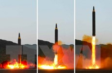 Tên lửa mới phóng của Triều Tiên không gây ra mối đe dọa cho Mỹ