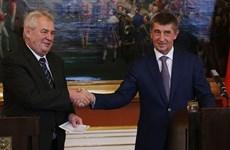 Tổng thống Séc bãi nhiệm chính phủ và bổ nhiệm thủ tướng mới