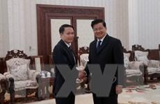 Thủ tướng Lào đánh giá cao sự hỗ trợ và giúp đỡ của TTXVN