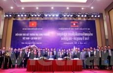 Kim ngạch thương mại song phương Việt-Lào tăng trưởng trở lại