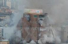 Phát hiện tác nhân gây ra vụ hỏa hoạn kinh hoàng ở Hàn Quốc