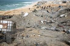 Israel tấn công trạm kiểm soát an ninh của Hamas ở Dải Gaza