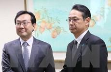 Hàn-Nhật nhất trí cùng nỗ lực vì hòa bình trên Bán đảo Triều Tiên