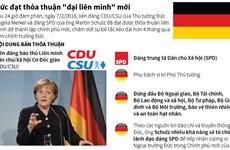 """[Infographics] Đức đạt thỏa thuận """"đại liên minh"""" mới"""