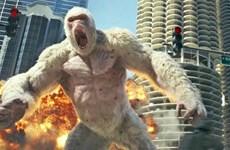 """""""Siêu thú cuồng nộ"""" của Dwayne Johnson tung trailer mới đầy hấp dẫn"""