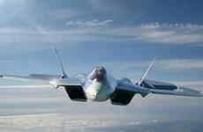 Tiêm kích thế hệ mới nhất của Nga Su-57 xuất hiện tại Syria