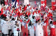 Đoàn Triều Tiên về nước sau khi kết thúc Thế vận hội PyeongChang