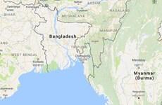 Bangladesh báo động cao tại khu vực biên giới với Myanmar