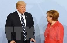 Bà Angela Merkel bày tỏ quan ngại trước quyết định của ông Trump