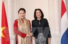 Chủ tịch Quốc hội hội đàm với Chủ tịch Hạ viện Vương quốc Hà Lan