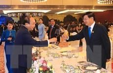 Thủ tướng và Phu nhân chủ trì tiệc chiêu đãi GMS6-CLV10