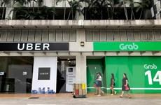 Singapore đưa ra biện pháp hạn chế tạm thời thương vụ Grab-Uber