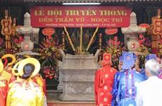 Đạo sắc phong tại đền Trấn Vũ được công nhận tài liệu lưu trữ quý hiếm