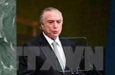Tổng thống Brazil Michel Temer sẽ thăm Việt Nam vào tháng 5