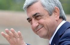 Thủ tướng Armenia Serzh Sarksyan tuyên bố sẽ từ chức