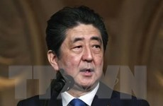 Thủ tướng Nhật Bản Shinzo Abe bắt đầu công du Trung Đông