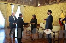 Ecuador sẽ sớm mở cơ quan đại diện ngoại giao tại Hà Nội