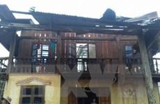 Lốc xoáy kinh hoàng ở Đắk Nông, hàng chục ngôi nhà bị đổ sập