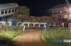 Tai nạn đường sắt ở Italy, ít nhất 20 người thương vong
