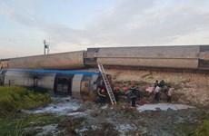 Vụ lật tàu ở Thanh Hóa: Các nạn nhân nhập viện đã qua cơn nguy kịch